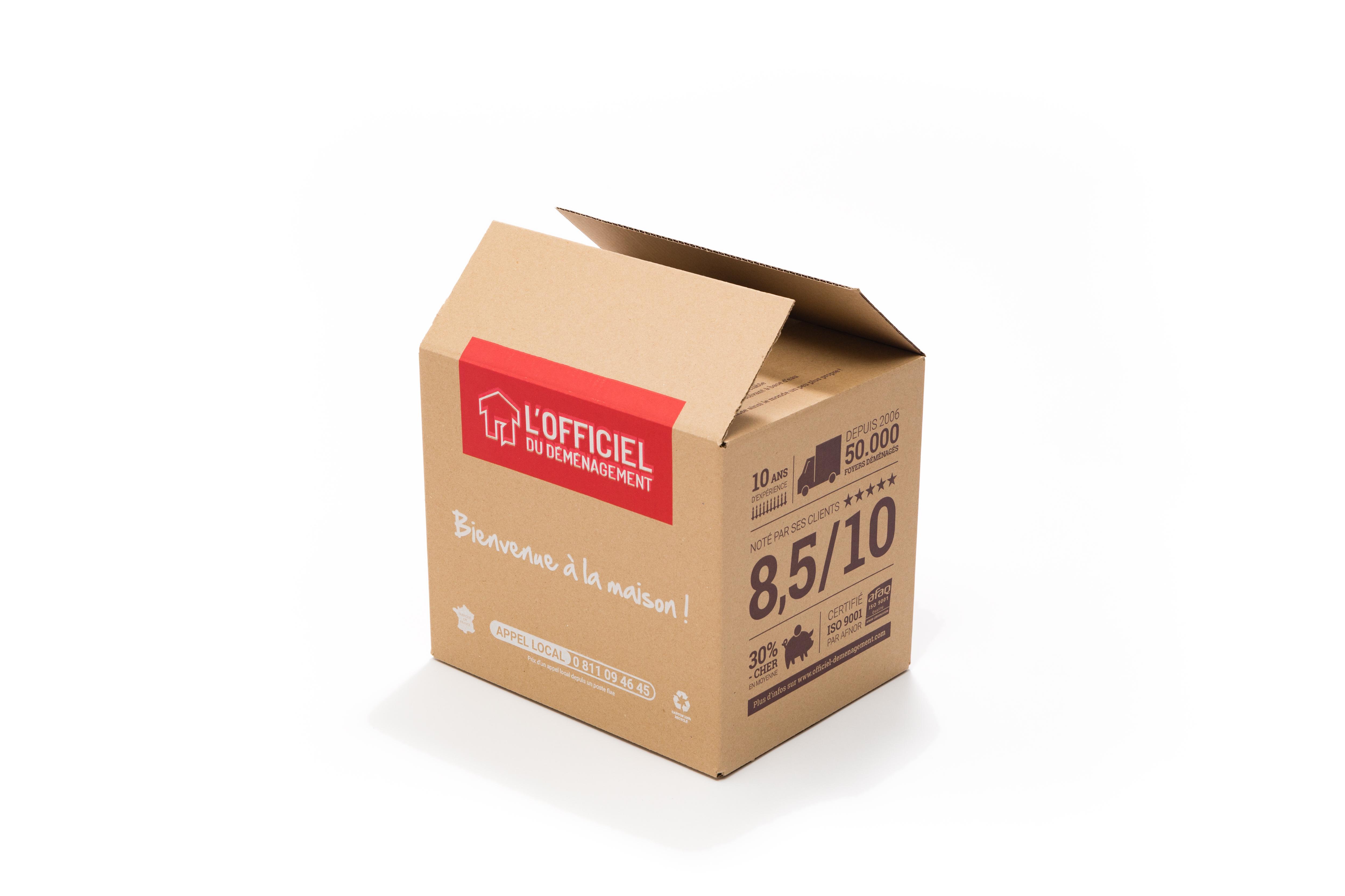 Carton Livres Officiel du déménagement