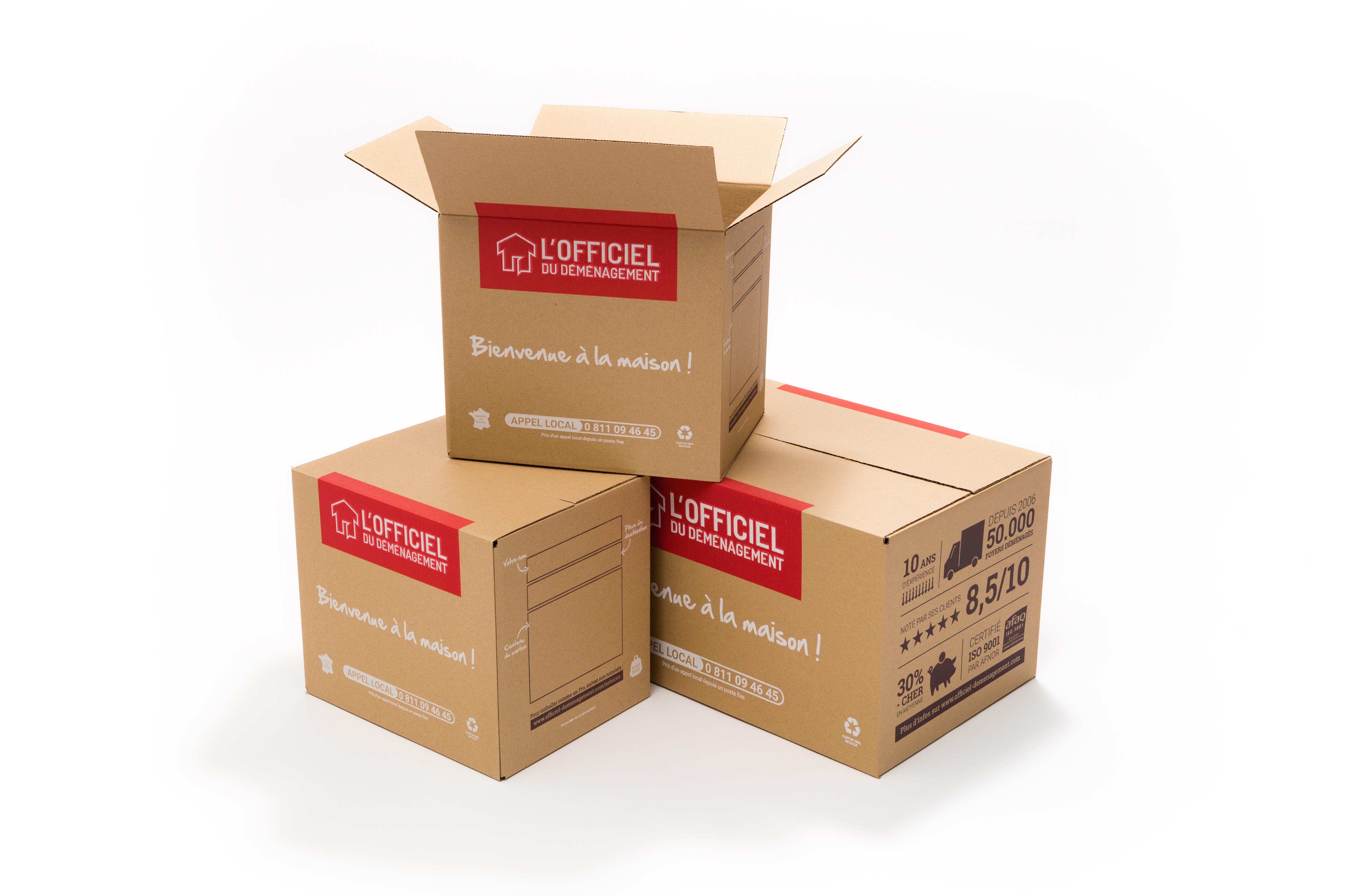 cartons de déménagement l'officiel du déménagement